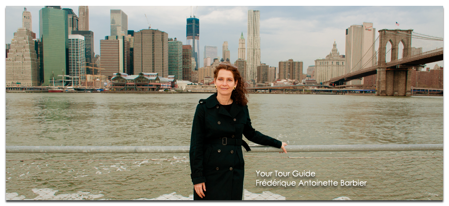 Tour Guide New York - Frédérique Antoinette Barbier
